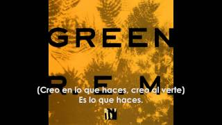 R.E.M. - Turn You Inside-Out (SUBTITULADA AL ESPAÑOL)