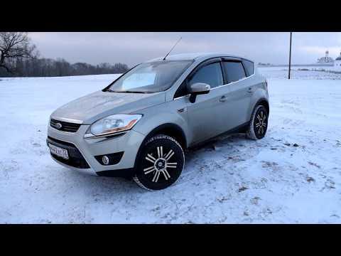 Фото к видео: Кантри тест-драйв Ford Kuga (Форд Куга), 2010 г.в., 2.5 л. (200 л.с.), АКПП
