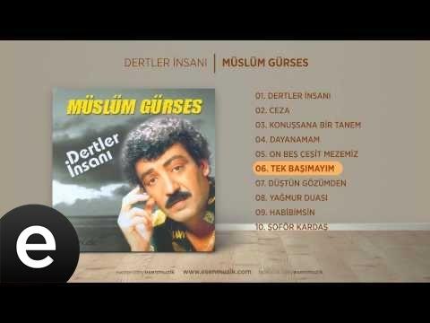 Tek Başımayım (Müslüm Gürses) Official Audio #tekbaşımayım #müslümgürses