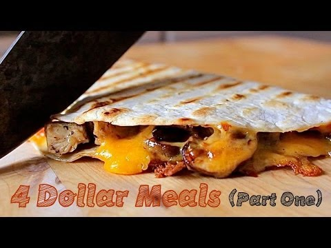 4 Meals, 4 Ingredients, 4 Dollars - College Cooking (Pt. 1)
