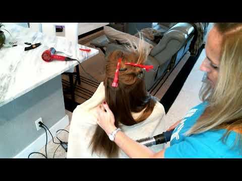 ASMR - Blow drying hair - NO TALKING - Mesmerizing hair dryer