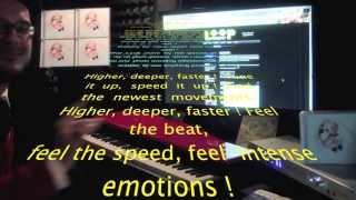 """BASTIAN LEE JONES listening to his song """"Grab my life"""" on www.loopradio.net"""
