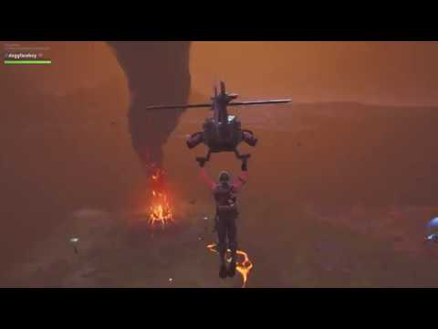 Watch Fortnite's Volcano Destroy 'Tilted Towers' After A