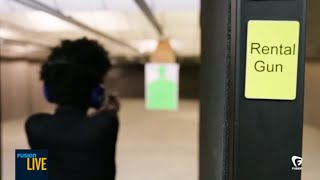 Suicides at The Gun Range with a Rented Gun