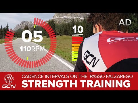 Strength Session On The Passo Falzarego | Improve Your Pedalling Torque