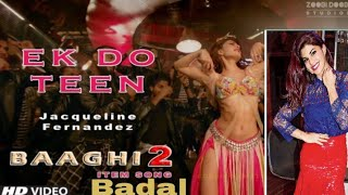Ek Do Teen Baaghi 2Jacqueline FernandezHD Video Download