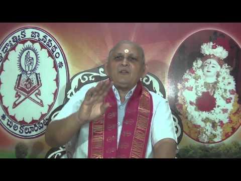 Srimad Bhagavad Gita CH 18: Day 11 : Shlokam 18 19 : Sri Chalapathirao : In Telugu