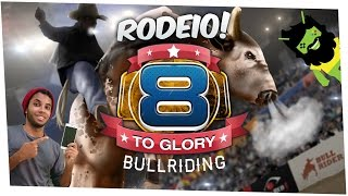 🔴Jogo de Rodeio 8 to Glory - Bull Riding Gameplay Android
