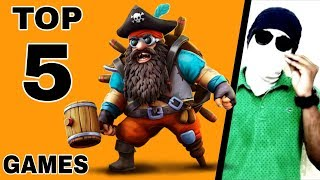 Top 5 High & Low Graphics Android Games 2018 August