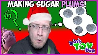 Making SUGAR PLUMS With Jon and Creepy Granny! Holiday Special by Bin's Toy Bin