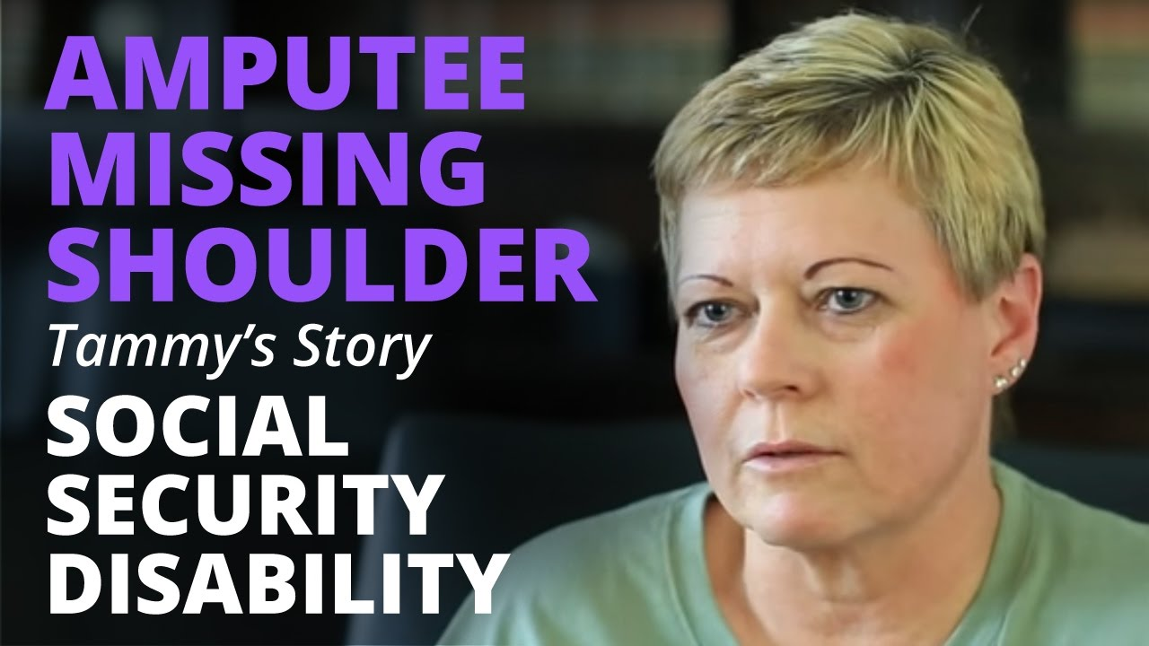 Amputee Missing Right Shoulder Talks About Social Security