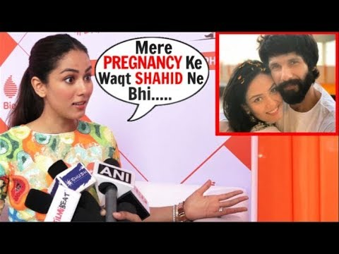 Mira Rajput SHARES Her & HUBBY Shahid Kapoor EXPERIENCE During Her PREGNANCY At Pregathon Event