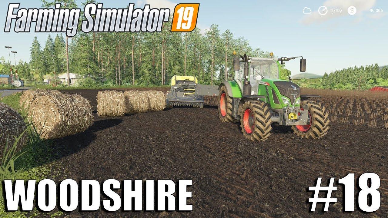 Bio Bales - Woodshire Timelapse #18 | Farming Simulator 19 Timelapse