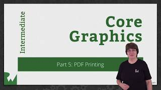 PDF Printing with Core Graphics - Learning Core Graphics - raywenderlich.com