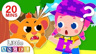 Let's Go on a Lion Hunt | Fun Nursery Rhymes and Songs for Kids by Little Angel