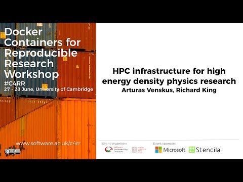 HPC infrastructure for high energy density physics research