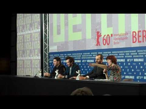Berlinale 2010, final press conferencePopogrebsky, Dobrygin and Puskepalis. Part II.