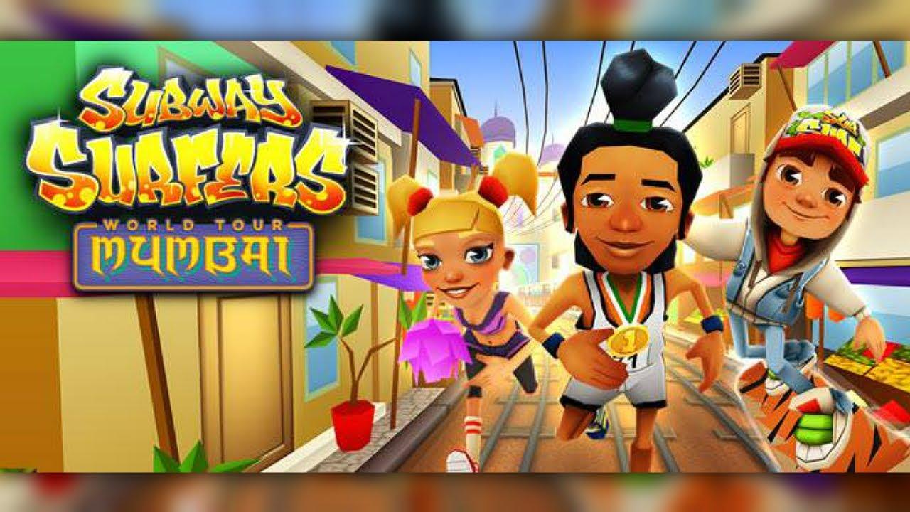 Download SUBWAY SURFERS: MUMBAI (iPhone Gameplay Video)