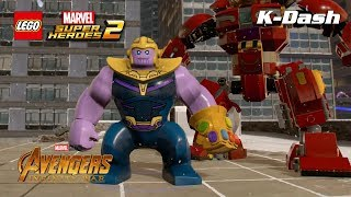 캐릭터 소개 어벤져스: 인피니티 워 DLC - 레고 마블 슈퍼 히어로즈 2 LEGO® Marvel Super Heroes 2