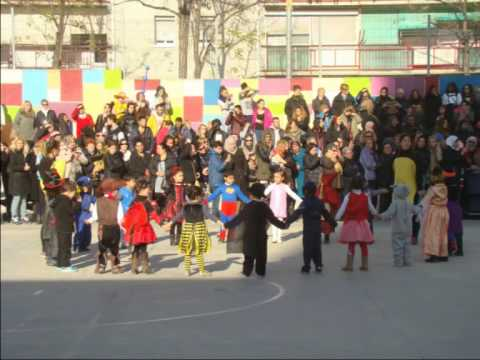 CARNESTOLTES 15 escola Sant Llorenç del Munt