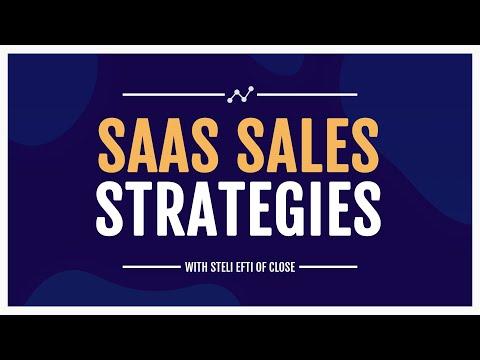 Successful SaaS Sales Strategies Webinar