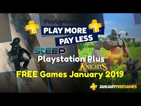 Playstation Plus January 2019 Free Games Ps4 Ps3 Ps
