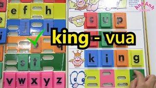 Vui Học Tiếng Anh Cùng Trâm Anh- Bé Anh Học Từ Vựng Tiếng Anh- Bảng Scrabble phần 3
