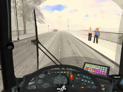 OMSI- The Bus Simulator   2011  [ Pilzdorf Map ]