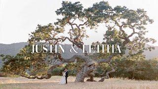 The Beautiful Wedding of Letitia & Justin   Holman Ranch Carmel Valley California
