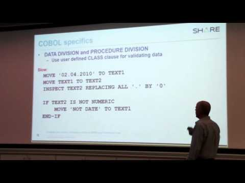 Programing Practices and Guidelines. COBOL