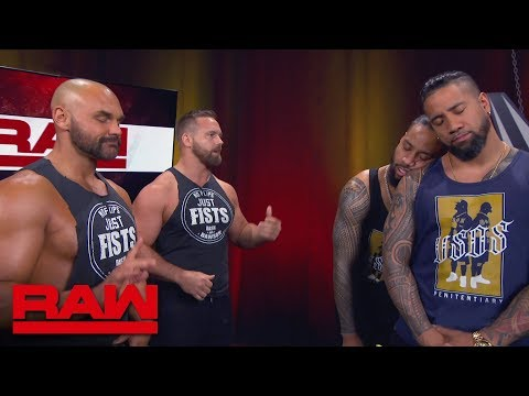 The Revival put The Usos to sleep: Raw, April 22, 2019
