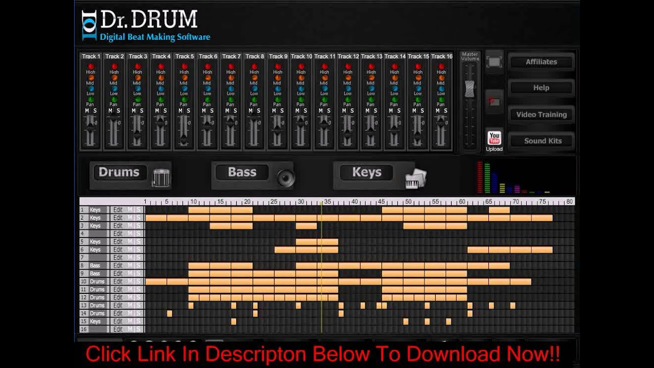 Free download dr drum full version the best beat maker software.