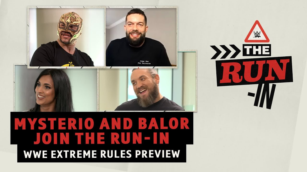Download The Run-In: Extreme Rules Preview   Rey Mysterio breaks down Roman Reigns vs. 'The Demon' Finn Balor
