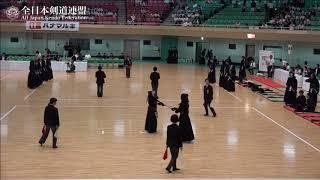 KUMAMOTO vs KAGOSHIMA 10th All Japan Interprefecture Ladies KENDO Championship 2018 4th Round