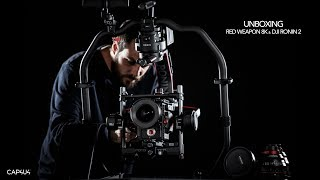 UNBOXING : RED Weapon 8K & DJI Ronin 2 [4K]