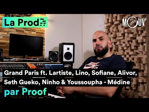 Youtube: MÉDINE –«Grand Paris»: comment Proof a composé le hit