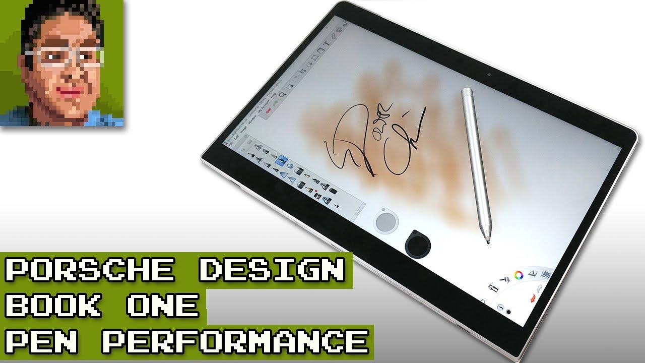 porsche design book one pen performance youtube. Black Bedroom Furniture Sets. Home Design Ideas