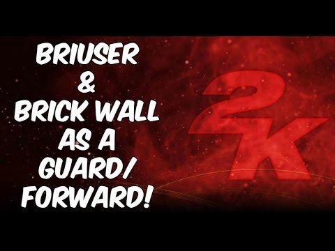HOW TO GET BRIUSER & BRICK WALL AS A GUARD/FORWARD! NBA 2K17 BADGE TUTORIAL