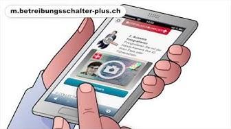 Betreibungsauszug mit Smartphone bestellen