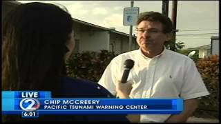 No tsunami threat for Hawaii after quake hits South Pacific