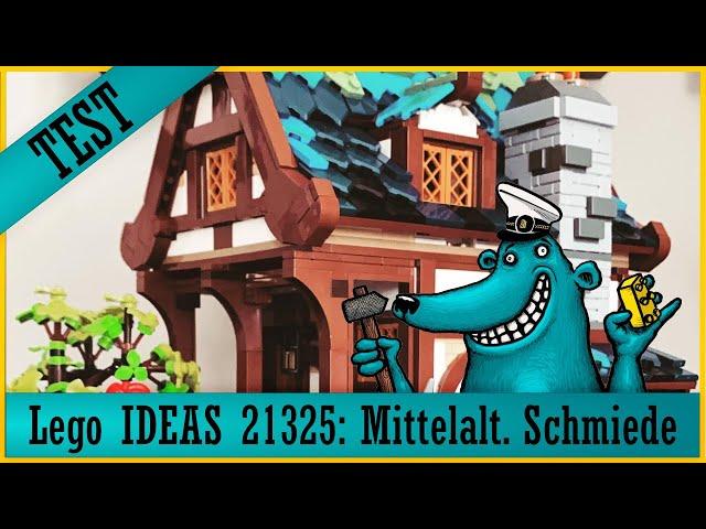 Lego Ideas 21325 mittelalterliche Schmiede: Ein Schmied und viele Kleinteile = Mittelalter-Lego-Fun?