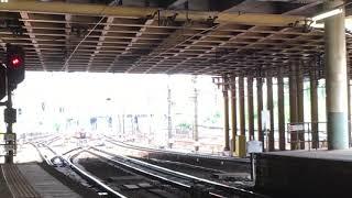 [新塗装全一特急]名鉄3150系 3168f+名鉄3100系 3107f(特急名古屋行き)金山駅 入線‼️