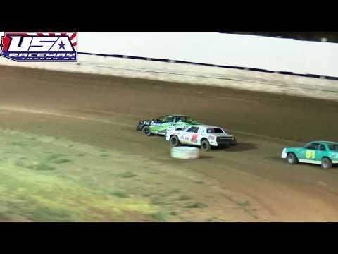 USA Raceway IMCA Stock Car Heat  July 6 2019