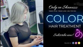 Silver Hair Transformation | Shanuzz Salon |