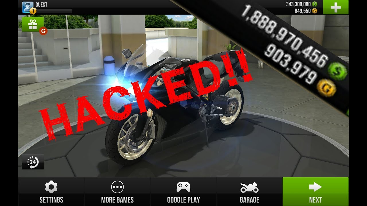 hack traffic rider trên windowsphone