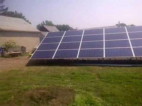 Home Solar Power Pa 11 kw Ground Mount