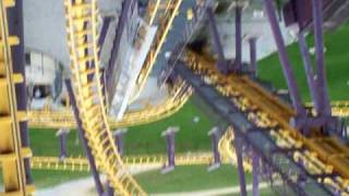 batwing   six flags america   front row pov