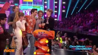 "Henry Danger and Jace Norman Win! | ""Kids' Choice Awards 2017"" 