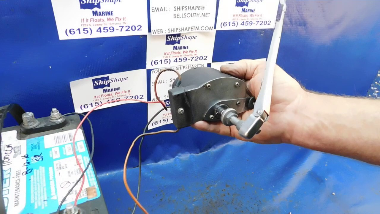 For Sale Marine Windshield Wiper Motor With Park