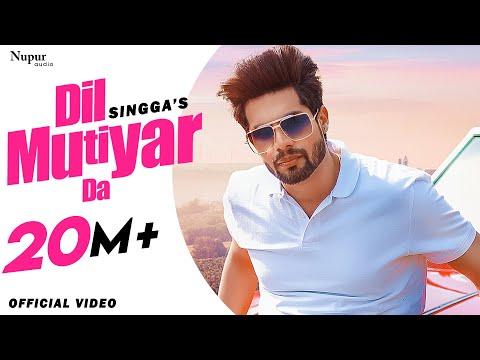Dil Mutiyar Da Full Video Singga  Latest Punjabi Songs 2020  New Punjabi Song 2020  Bunty Bains